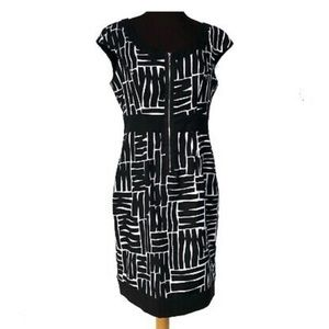 Ricki's Fit and Flare Black Dress Women Size 6